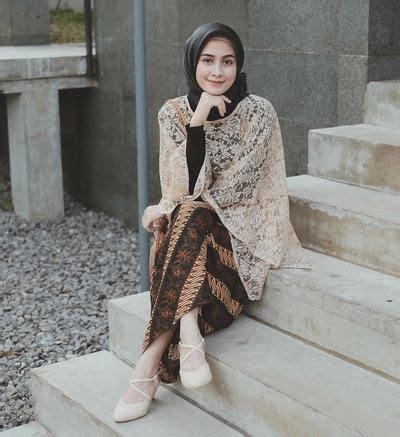 model atasan brokat remaja terbaru  galeri busana  baju muslim