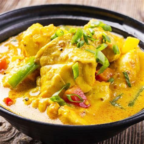 lait de coco cuisine recette colombo de poisson facile rapide