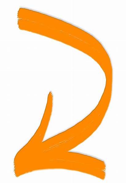 Arrow Sun Path Orange Transparent Clipart Clip