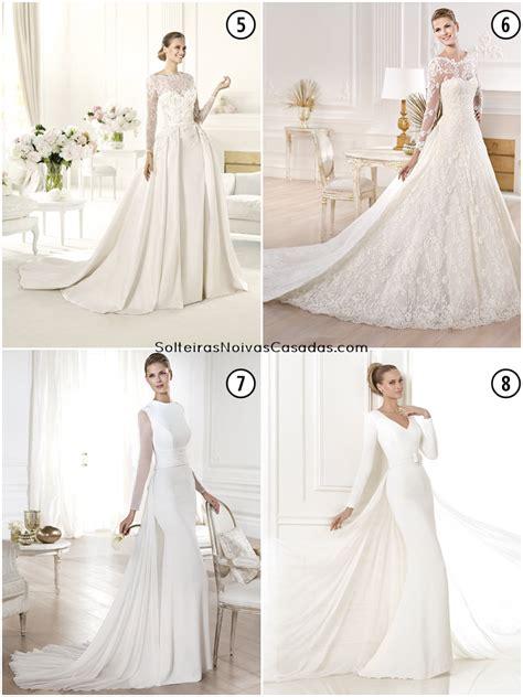 Vestidos De Noiva Coms Longas Solteiras Noivas