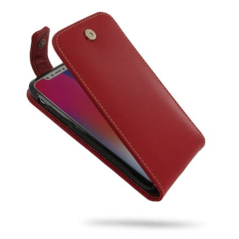 flip image iphone iphone x flip top wallet pdair pouch with