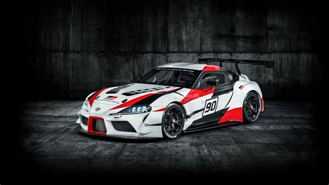 toyota gr supra racing concept   wallpaper hd