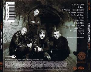 Three Days Grace - One-X (2006) Back Cover | Album Covers ...