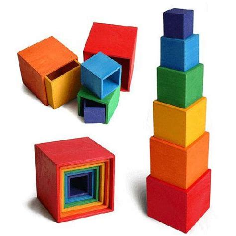seedling crafts wooden stacking boxes earth toys