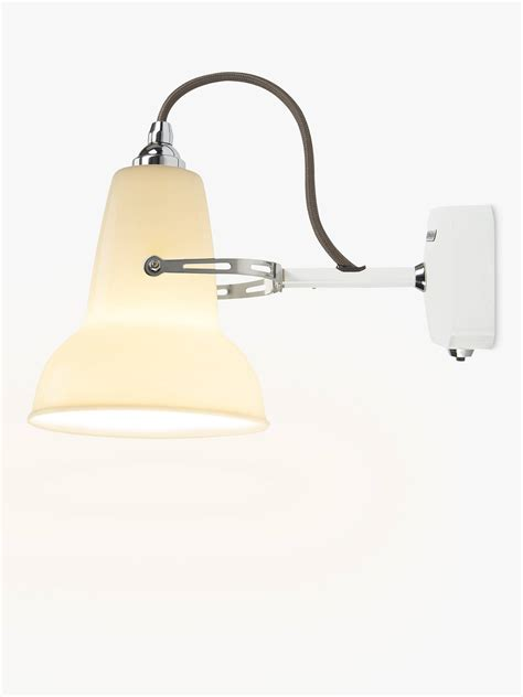 anglepoise 1227 ceramic wall light white at