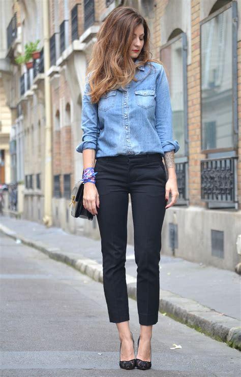 les 25 meilleures id 233 es de la cat 233 gorie chemises en jean