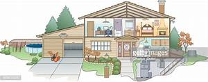 House Diagram High-res Vector Graphic