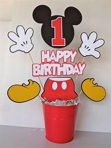 Happy Birthday Maus : centros de mesas de mickey mouse imagui ~ Buech-reservation.com Haus und Dekorationen
