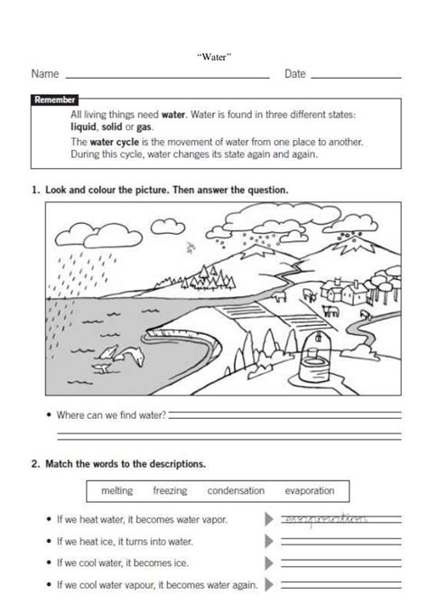 landscape sheets landscapes worksheet 6 6