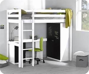 Dimension Lit 1 Place 1 2 : lit mezzanine enfant id es de d coration int rieure french decor ~ Teatrodelosmanantiales.com Idées de Décoration