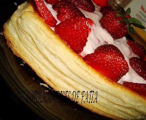 tarte au fraise feuillet 233 paperblog
