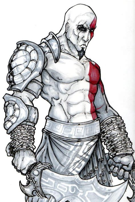 Kratos God Of War By Chrisozfulton On Deviantart