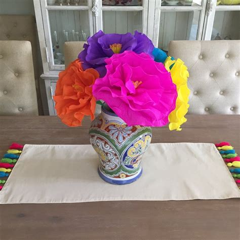 These Mexican Handmade Tissue Flowers Will Add A Splash Of