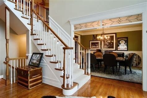 trend  paint interior stained wood trim white