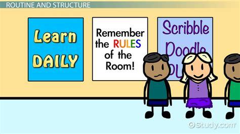 preschool classroom management strategies video lesson