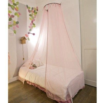 baldaquin rideaux ciel de lit paillettes rose mouche