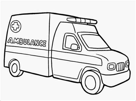 ambulance coloring pages ambulance coloring page coloring home