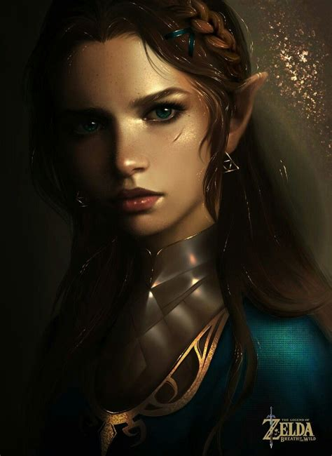 The Legend Of Zelda Breath Of The Wild Realistic Zelda