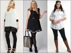 Black and White Outfits Plus Size Women