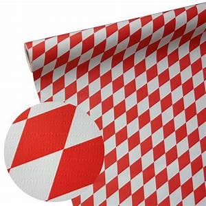 Papiertischdecken Für Biertische : 50m 1 15m junopax papiertischdecke raute wei rot ~ Markanthonyermac.com Haus und Dekorationen