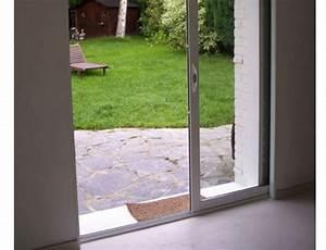 Baie Vitree A Galandage 2 Vantaux : porte coulissante en applique grande largeur ~ Edinachiropracticcenter.com Idées de Décoration