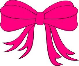 softball hair bows pink bow darla clip at clker vector clip