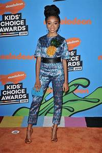 Skai Jackson In Alcoolique @ Nickelodeon's 2018 Kids ...