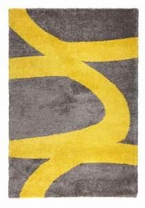 Tapis Scandinave Pas Cher : couleur jaune tapis de salon ou chambre pas cher ~ Teatrodelosmanantiales.com Idées de Décoration