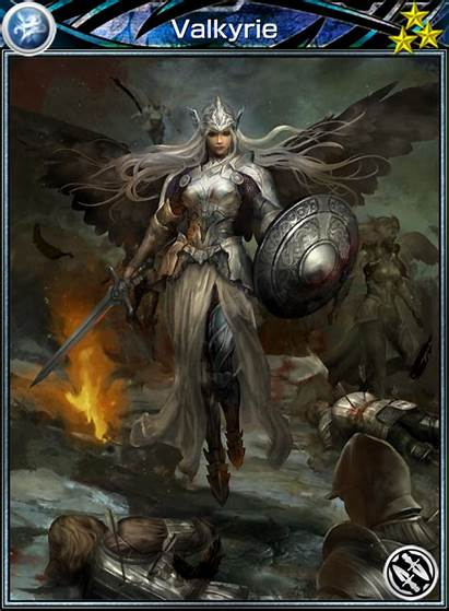 Valkyrie Card Mobius Fantasy Cards Final Viking