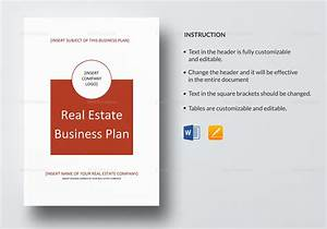 real estate business plan template in word google docs With business link business plan template