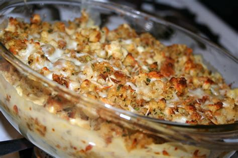 chicken dressing casserole coffee and cannolis chicken and stuffing casserole
