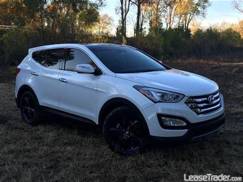 Hyundai Santa Fe Rims by 2013 Hyundai Santa Fe White With Black Rims