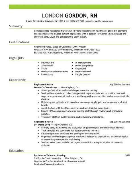 perfect nursing resume    tips  follow