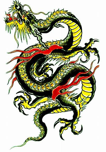 Dragon Chinese Background Dragons Tattoo Clipart Snake