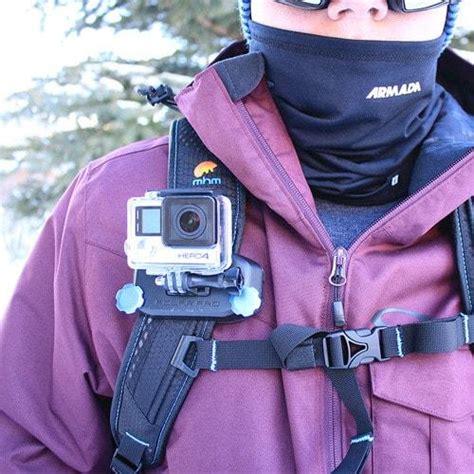 strapmount gopro backpack mount polarpro
