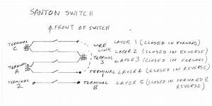 Santon Reversing Switch  Used On Some Myford Lathes
