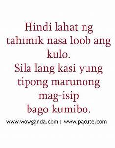 Tagalog Quotes - Mga Patama Love Quotes Tahimik | Quotes ...