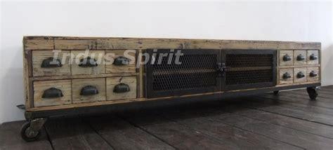 meuble tv industriel bois meuble tv industriel bois et m 233 tal