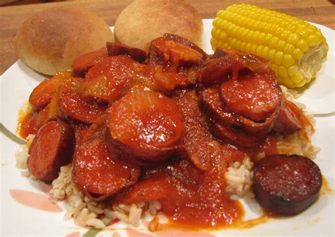 l cuisine louisiana spicy gravy and sausage