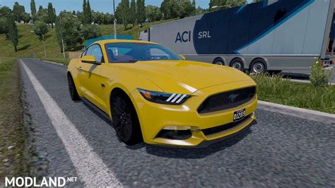 ford mustang gt  ats  mod  american truck