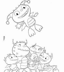 Kids N Funde 11 Ausmalbilder Von Henry Knuddelmonster