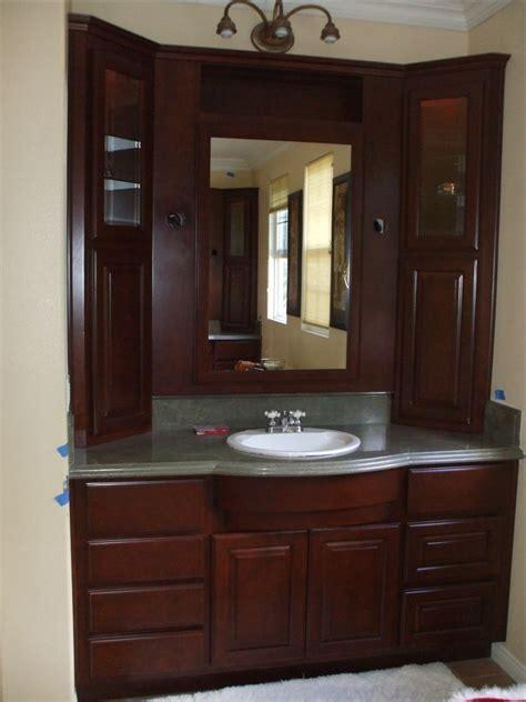 bathroom vanity with tall cabinet get a new bathroom vanity woodwork creations