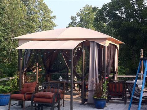 gazebo canopy 15ft x 14ft gazebo replacement canopy 5lgz5726 garden winds