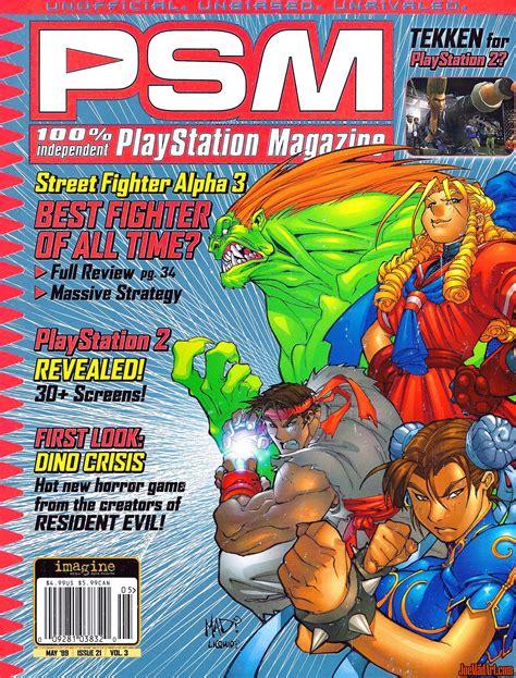 joemadartcom street fighter alpha  psm cover