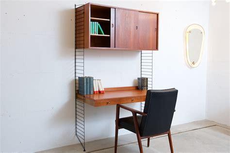 String Regal Shop by String Regal System Combo Work Space Teak Breit