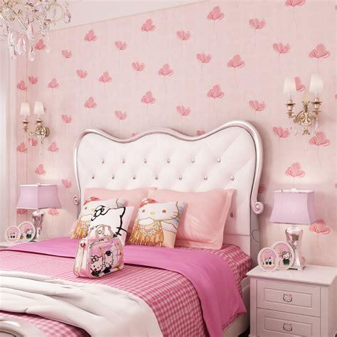 bedroom with pink walls room wallpapers bedroom nonwovens warm korean 14476