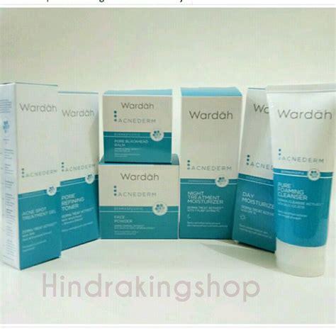 Harga Wardah The Series daftar harga wardah acne acnederm series terbaru 2019