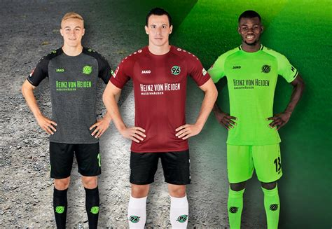 Maybe you would like to learn more about one of these? Hannover 96 18-19 Home, Away & Third Kits Released - Footy ...