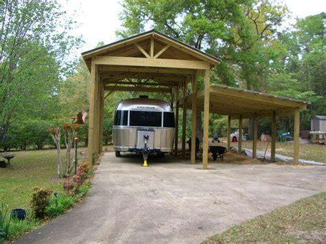 Motorhome Carport Plans by Rv Garages Styles Floorplans Lazydays Rv
