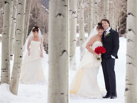 Elegant Winter Wedding In Aspen Colorado